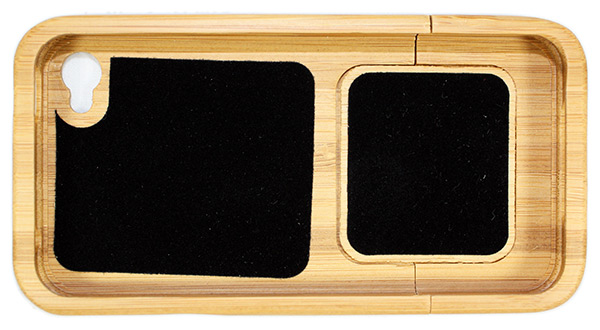 GeekCook Bamboo iPhone 4 Case