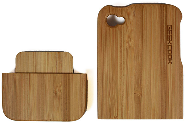 GeekCook iPhone 4 Bamboo Cover