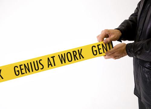 Genius Crime Scene Tape