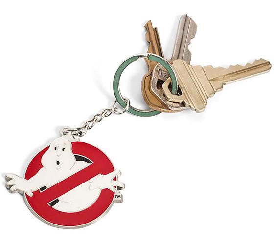 Ghostbusters Logo Keychain