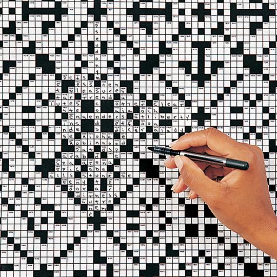 Giant Crossword Puzzle