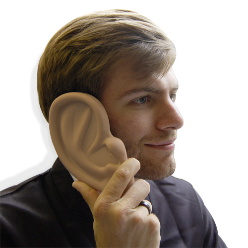 Thumbs Up Giant Ear iPhone Case