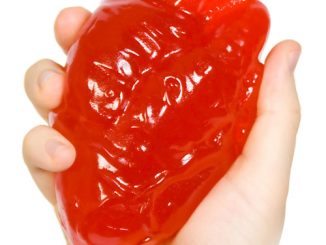Giant Gummy Candy Heart