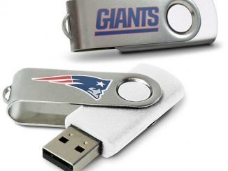 Giants, Patriots NFL USB Flash Drives