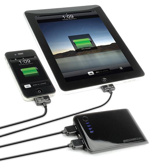 Scosche goBAT II Portable iPhone/iPod/iPad Charger