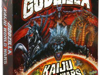 godzilla kaiju wars board game monster vs monster