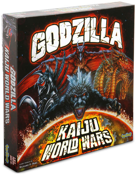 godzilla kaiju wars board game monster vs monster