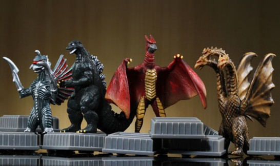 godzilla kaiju wars game pieces