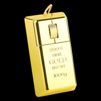 Gold Bar USB Computer Mouse