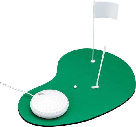 Golf Ball Computer Mouse