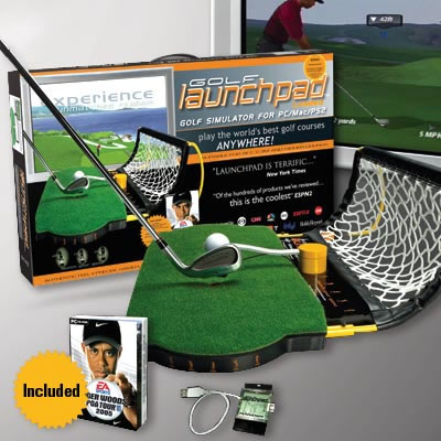 Tiger Woods Golf Simulator