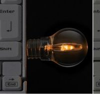Green House Light Bulb USB Flash Drive