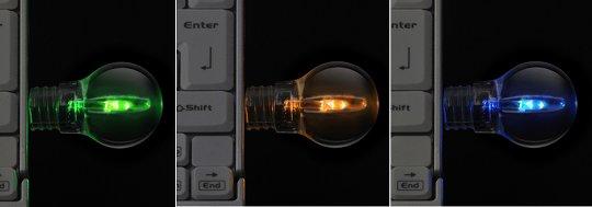 Green House Light Bulb USB Flash Drive