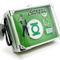 Green Lantern Lunch Box Belt Buckle and Key Chain Set