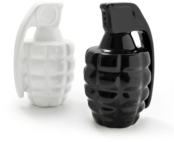Genade Salt and Pepper Shakers