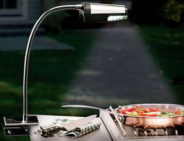 Cordless LED Grill Light
