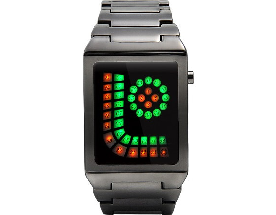 Anti Grinch LED Watch