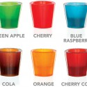 Gummy Shot Glass Flavors