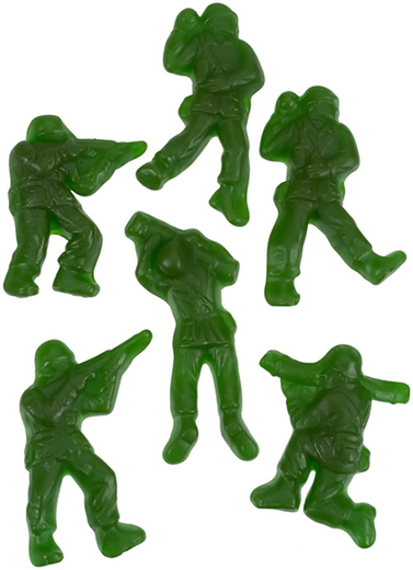 Gummy Army Men Soldiers