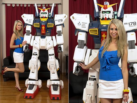 Gundam Robot Papercraft