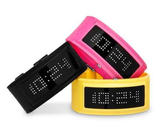 Neon LED Guru Watch