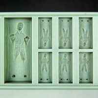 Star Wars Han Solo Carbonite Silicone Ice Tray