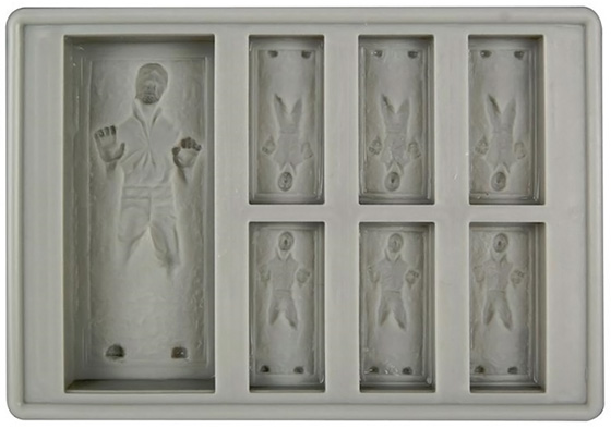 Han Solo Carbonite Silicon Tray