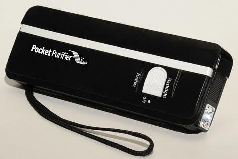 Pocket Purifier Handheld Ultraviolet Disinfectant Light