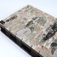 Handmade Journal White Birch Bark