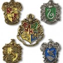 Harry Potter Hogwarts House Crest Pins