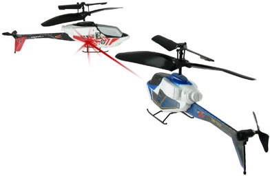 Battling Palmsize Havoc R/C Helicopter
