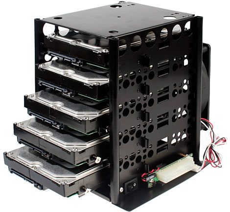 5-Disk HDD Tower