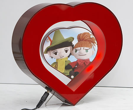Heart-in-Heart Floating Photo Frame