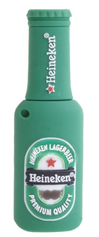 Heineken Beer Bottle USB Flash Drive
