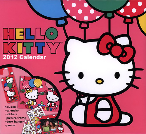 Hello Kitty Special Edition 2012 Calendar