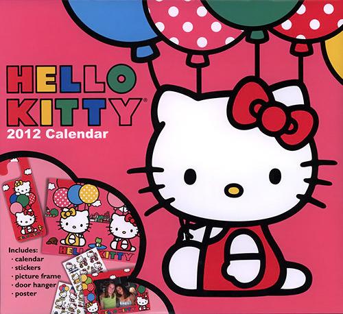 Hello Kitty Special Edition 2012 Calendar