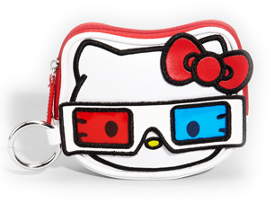 Hello Kitty 3D Coin Pouch