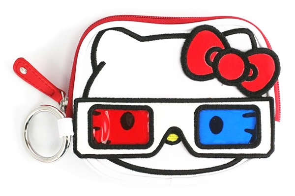 Hello Kitty 3D Movies Coin Purse