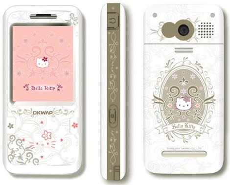 company has announced C150T, a mobile phone packed with more Hello Kitty