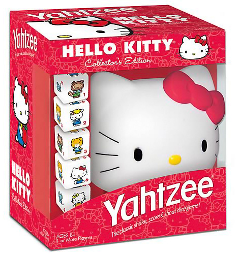 Hello Kitty Collector's Edition Yahtzee Game