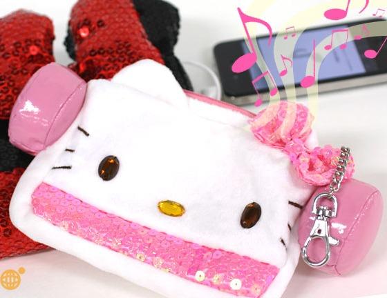 Hello Kitty Speaker Pouch