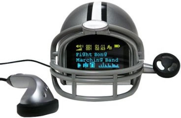 Kansas State Helmet MP3 Player