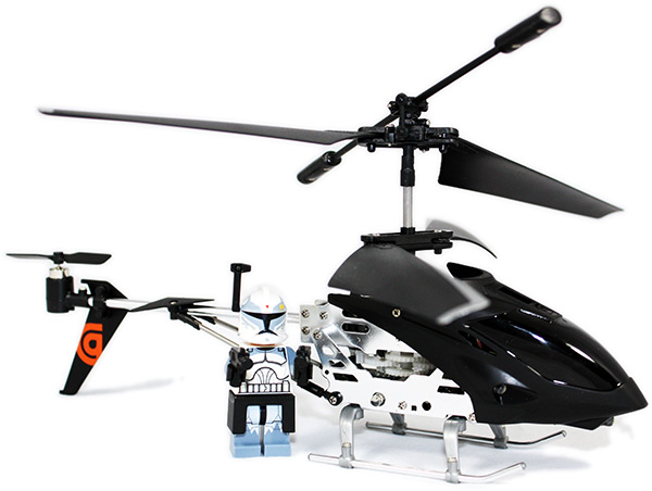 Helo TC Helicopter with Lego Clone Minifigure