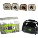 Burnt Impressions Marijuana Hemp Leaf Toaster