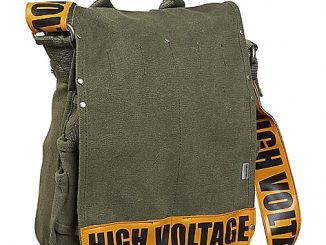 High Voltage Messenger Bag