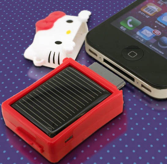 Hello Kitty iPhone Solar Charger