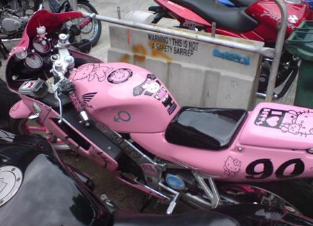 Hello Kitty Motorcycle