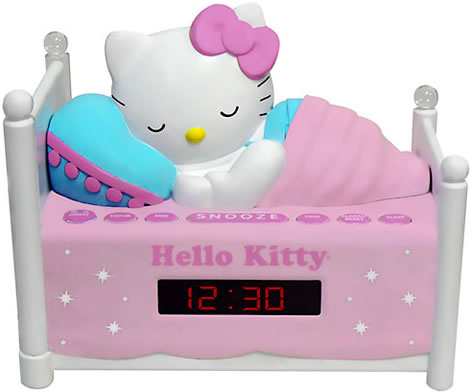 Hello Kitty Clock Radio
