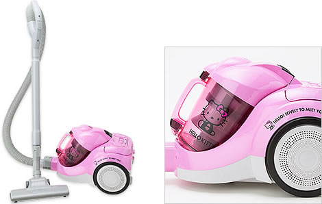 Hello Kitty Vacuum Cleaner | GeekAlerts
