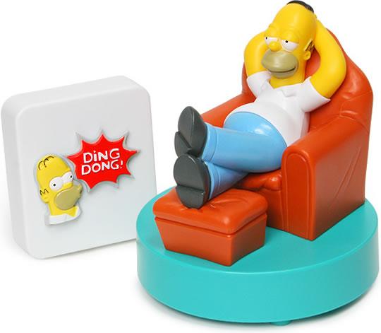 Homer Simpson Talking Doorbell